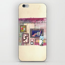The emperor's new clothes iPhone Skin