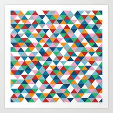 Triangles #1 Art Print