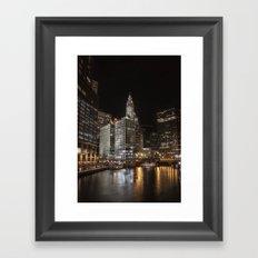Chi Town Framed Art Print