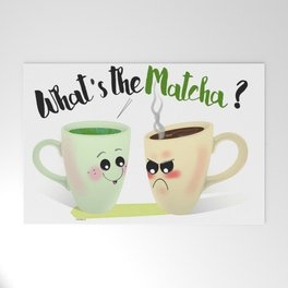 What's the Matcha? Welcome Mat