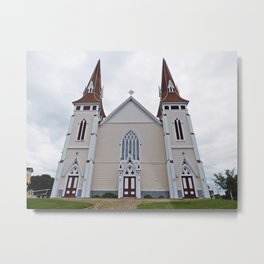 Saint John the Baptist Church in PEI Metal Print