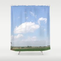 mouse Shower Curtains featuring Mouse by Stecker Photographie