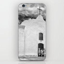 Church Black and White iPhone Skin