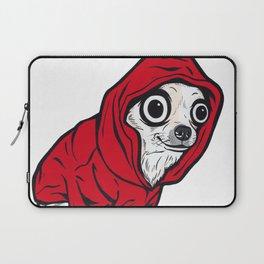 Chihuahua Red Hoodie Laptop Sleeve