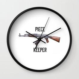 AK 47 Piece keeper Wall Clock