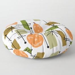 Halloween Mid Century Modern Floor Pillow