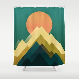 Gold Peak Shower Curtain