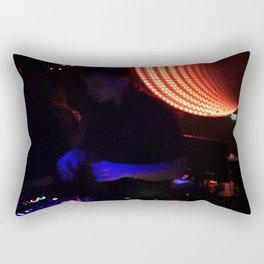 Blue Hands Rectangular Pillow