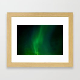 Icelandic Lights Framed Art Print