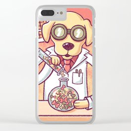 Lab in the Lab Clear iPhone Case