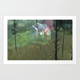 The Endless Forest - Floral Explosion Art Print