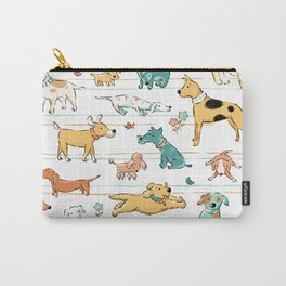Dogs Dogs Dogs Carry-All Pouch