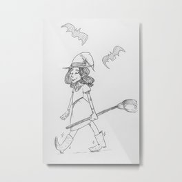 witch harry Metal Print