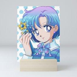 Blue Ami Mini Art Print