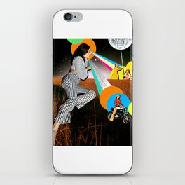 Young, Wild and Free iPhone Skin