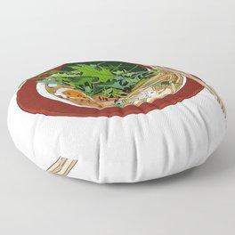 Soy Ramen Noodle Floor Pillow