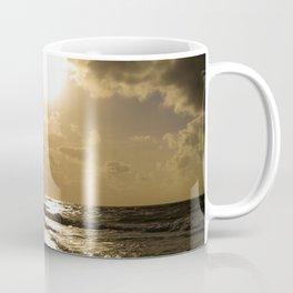 Clouds over the sea of Sylt Island Coffee Mug