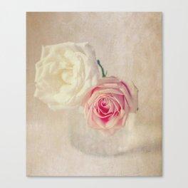 Rosa Textured Canvas Print