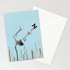 The  rose sleeping Stationery Cards