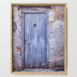 Old Blue Door Serving Tray