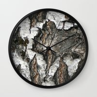 birch Wall Clocks featuring Birch by Sproot
