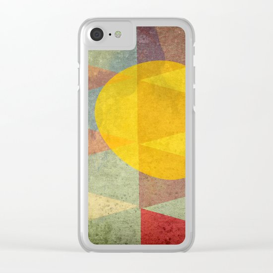 Indian Summer Clear iPhone Case