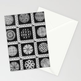 Zentangle®-Inspired Art - ZIA 49 Stationery Cards