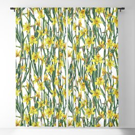 Spring's fragrances. Narcissuses. Blackout Curtain