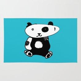 Patchwork Panda Bear Rug