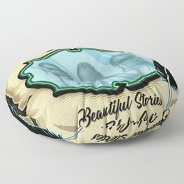 Beautiful Stories For Ugly Children Alt Cover Floor Pillow