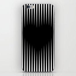 Heart optical illusion art #society6 #decor #buyart #artprint iPhone Skin