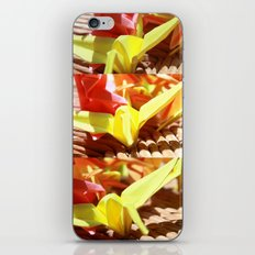 Paper Cranes iPhone & iPod Skin