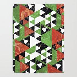Marmo Mosaic Poster
