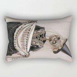 Rucus Studio Muerte - Dia de los Muertos Rectangular Pillow