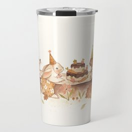 Woodland Party Travel Mug