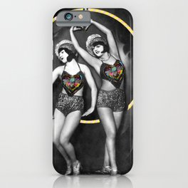 The Fiddlebittery Girls iPhone Case