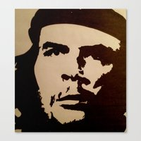 che Canvas Prints featuring Che  by ngobs