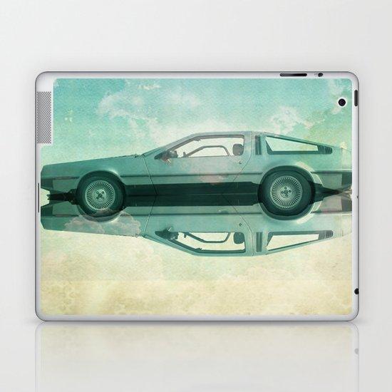 Siamese  Delorean Laptop & iPad Skin