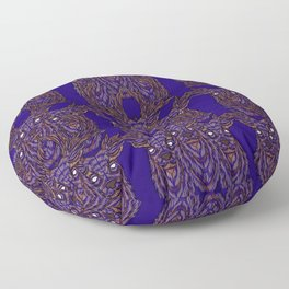 Abstract Stag Floor Pillow
