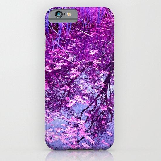 purple garden pond I iPhone & iPod Case