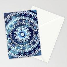 Marina Blue Mandala Stationery Cards