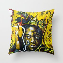 biggiat Throw Pillow