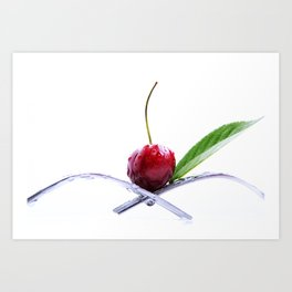 Cherrie Art Print