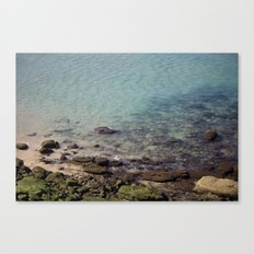 Green Rocks Canvas Print