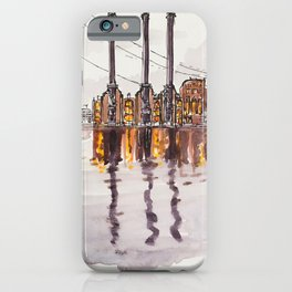 Downtown Waterfront iPhone Case
