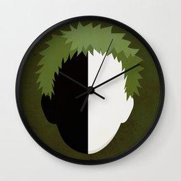 Zetsu Simplistic Face Wall Clock