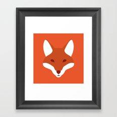 Red Fox Framed Art Print