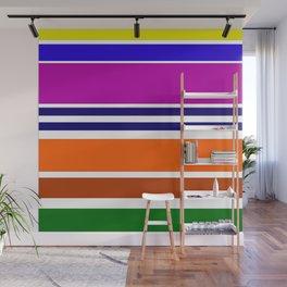 Warm Color Rhythm Wall Mural