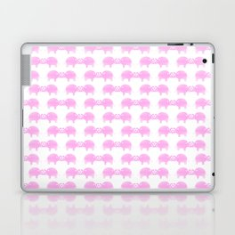 Joined At The Trunk Pink Laptop & iPad Skin