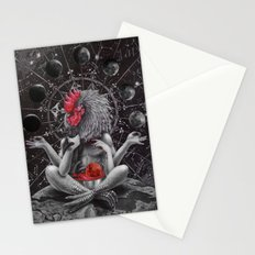 Moon phase celebration Stationery Cards